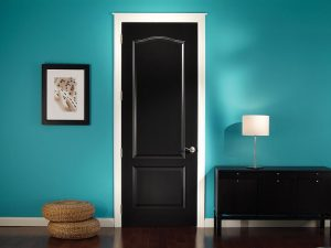 Bedroom door installation