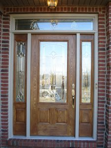 Nice glass exterior door