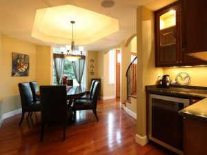 Dining room and kitchen remodeling