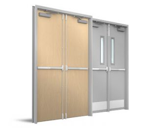 Commercial door installation muka interiors